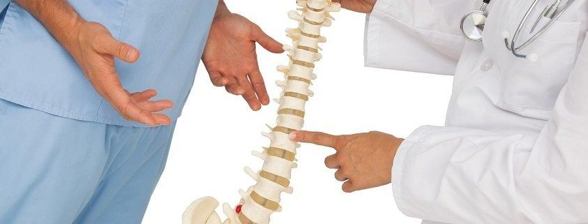 back discomfort